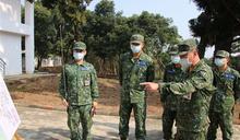 10軍團指揮官視導成功嶺營區役男接訓
