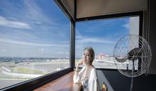 中部網美打卡新景點 麗寶賽車主題旅店陳列價值百萬裝置藝術