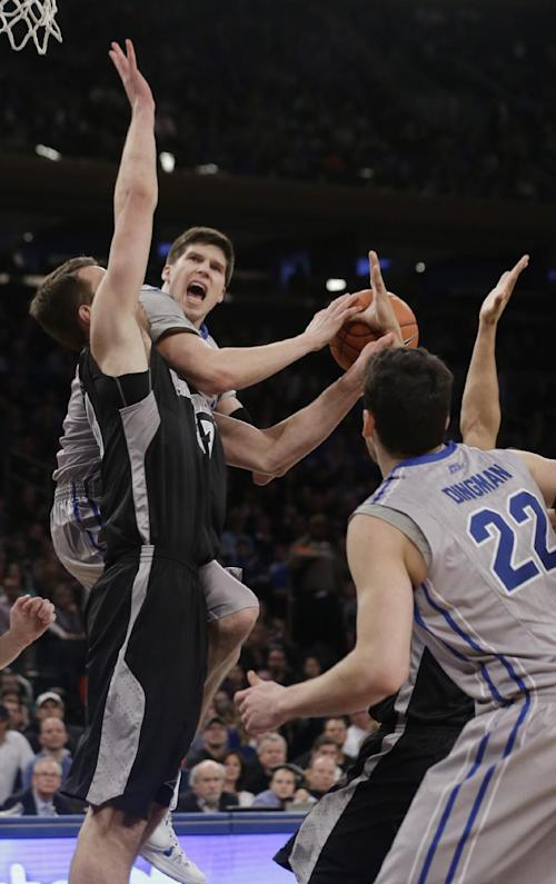 Providence beats Creighton 65-58 to win Big East