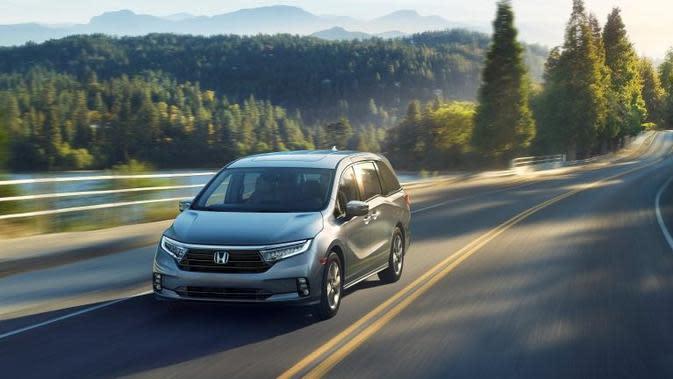 Menjadi minivan terlaris di Amerika Serikat selama 10 tahun, model terbaru Honda Odyssey siap unjuk gigi di New York Auto Show 2020, April mendatang.