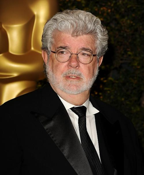 George Lucas attends the Academy of Motion Pictures Arts and Sciences' 4th annual Governors Awards at The Ray Dolby Ballroom at Hollywood & Highland Center on December 1, 2012 -- Getty Premium