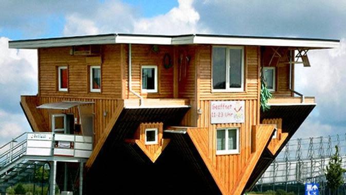 Potret 6 Rumah dengan Arsitektur Terunik di Dunia. (Sumber: brightside.me)