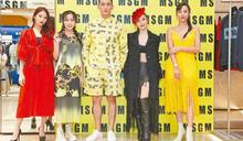現身時尚品牌發表會 許維恩誇旗下藝人都是寶