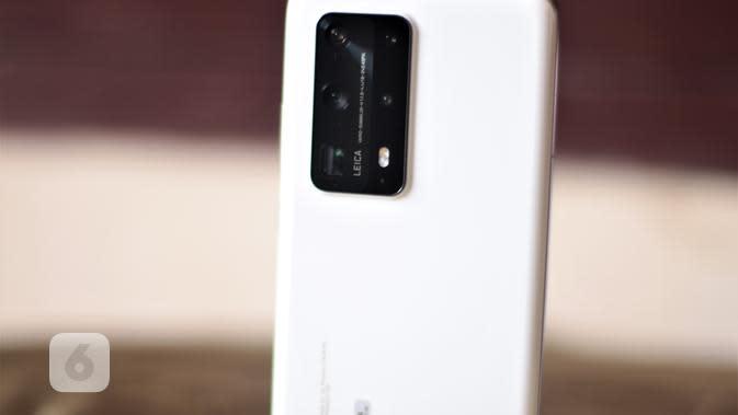 Kamera Huawei P40 Pro Plus (Liputan6.com/ Agustin Setyo W)