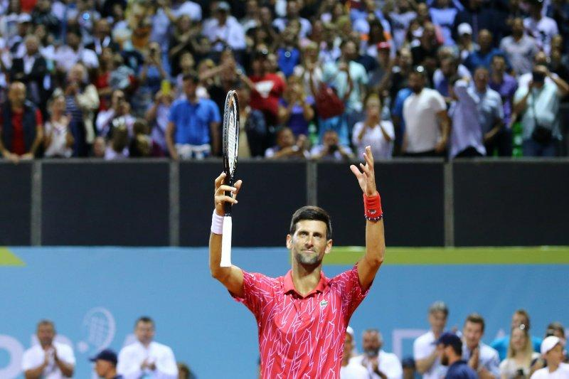 Djokovic ke final turnamen eksibisi di Kroasia