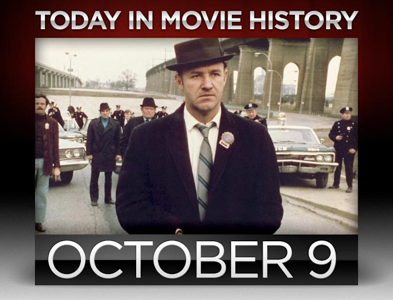 today in movie history, october 9