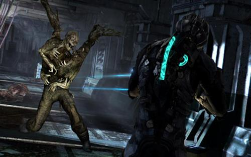 "This video game image released by Electronic Arts shows a scene from ""Dead Space 3."" (AP Photo/Electronic Arts)"