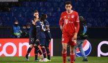 歐冠》奪冠熱門拜仁扳成3-3遭淘汰 巴黎客場進球優勢進四強