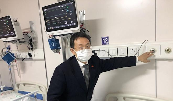 Professor Lu Hongzhou, an epidemiologist at the Shanghai Public Health Clinical Centre, said the hospital is upgrading its facilities to better prepare against future epidemics. Photo: Daniel Ren