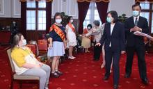蔡總統:將新增百個社區據點 助身心障礙者自立 (圖)