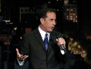 Jerry Seinfeld Did Six Minutes of Stand-Up About *69 and Cialis Last Night