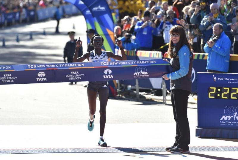 Kenya's marathon queen Keitany still hungry for more titles