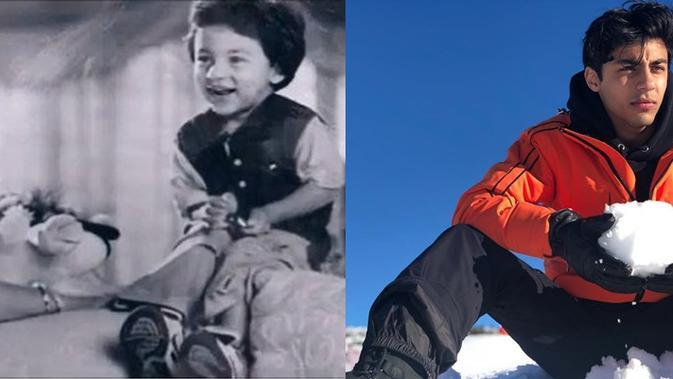 Beda Gaya 7 Aktor Cilik Bollywood Tahun 90-an Dulu Vs Kini, Bikin Pangling. (Sumber: Instagram/@___aryan___)