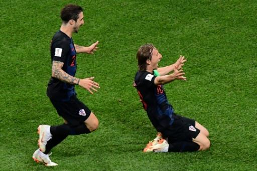 Luka Modric scored a magnificent goal as Croatia crushed Argentina 3-0