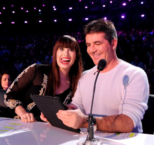 Simon Cowell Says Demi Lovato Will Likely Return To 'X Factor,' Ryan Seacrest Can Guest-Host