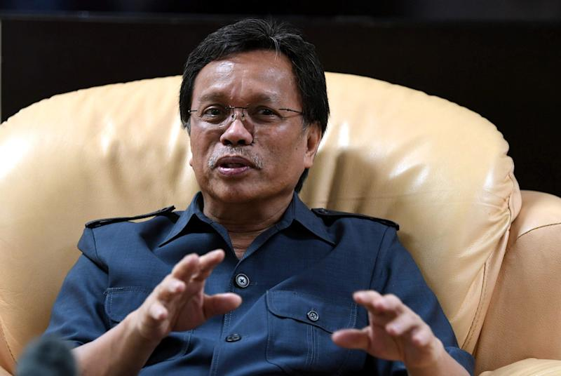 Datuk Seri Mohd Shafie Apdal said that he accepted and respected the people's decision and would continue to work for Sabah. — Bernama pic