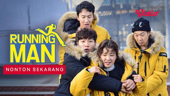 Program variety show asal Korea Selaran, Running Man yang bisa ditonton di Vidio. (Foto: Vidio)