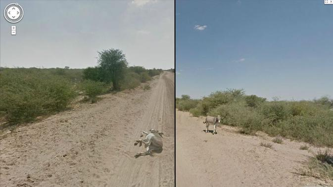 Tangkapan layar Google Street View (Jon Rafman/Google Street View)