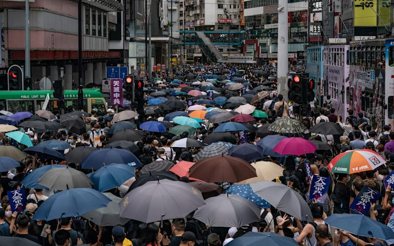 Anti-government protests have been reignited in Hong Kong - Anthony Kwan/Getty Images