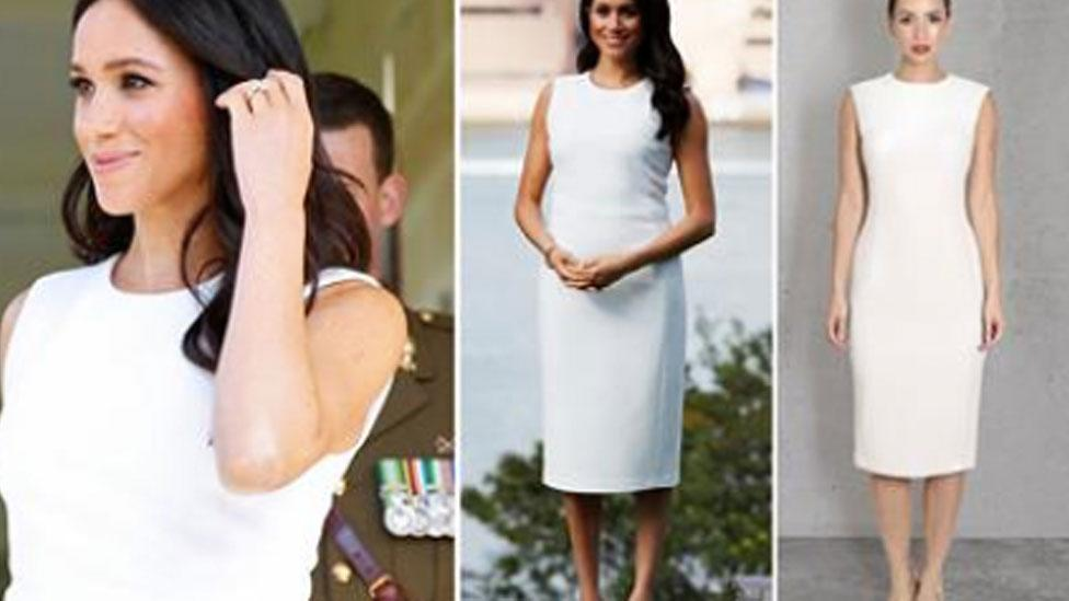 <p>Scroll through to take a look at the Duchess of Sussex's day one looks. </p>