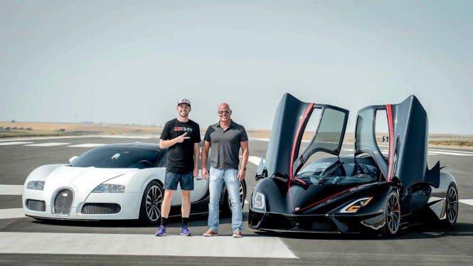 Supercar Terkencang di Dunia Kewalahan Ngejar Mobil Ini