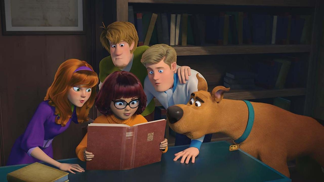 """<p>Did you know the Mystery Machine gang met on a Halloween night? This animated movie delves into the gang's origins, then solves a mystery that's more fantastic than it is terrifying. (Plus, there are plenty of Easter eggs for parents who might've grown up with old Hanna-Barbera cartoons.)</p><p><em>Ages: 7+</em></p><p><a class=""""body-btn-link"""" href=""""https://www.amazon.com/SCOOB-Will-Forte/dp/B087L5HNCR?tag=syn-yahoo-20&ascsubtag=%5Bartid%7C10055.g.2661%5Bsrc%7Cyahoo-us"""" target=""""_blank"""">WATCH NOW</a></p><p><strong>RELATED:</strong> <a href=""""https://www.goodhousekeeping.com/life/entertainment/g28038087/best-scary-movies-for-kids/"""" target=""""_blank"""">25 Scary Movies for Kids That Aren't Too Traumatizing</a></p>"""