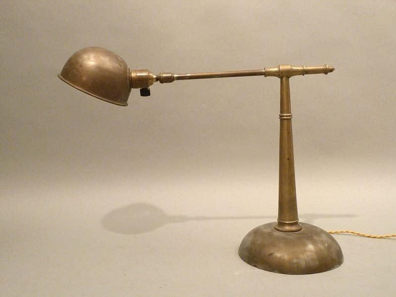 1920s 法國包浩斯古董檯燈