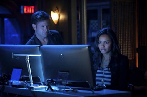 Matt Davis and Jessica Lucas in The CW's 'Cult' -- The CW