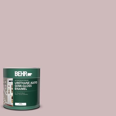 Behr 1 Qt N120 3 Mauve It Semi Gloss Enamel Urethane Alkyd Interior Exterior Paint Yahoo Shopping