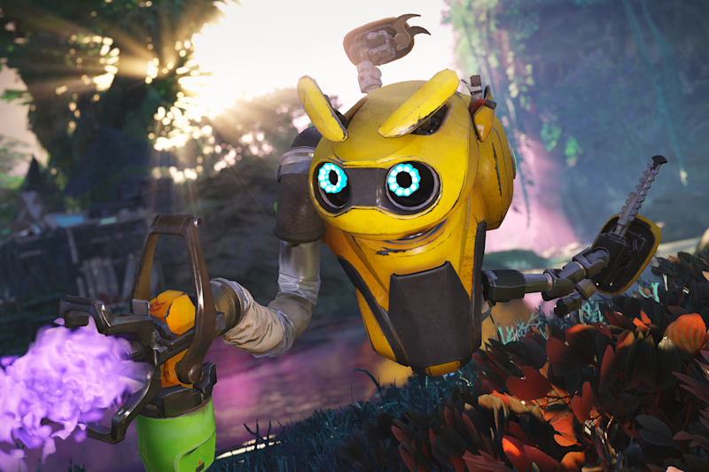 Bugg tends to some flowers (Amazon Games)