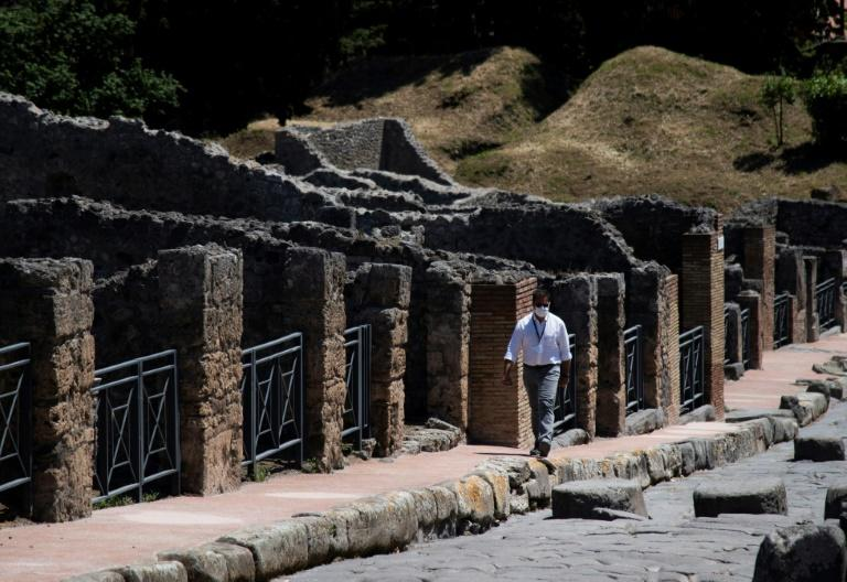 Pompeii reopens -- it attracted just under four million visitors in 2019