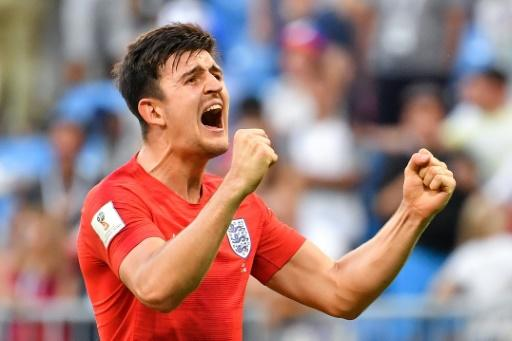 A man in demand: Leicester's Harry Maguire has been a target for Manchester United after his stellar World Cup performances for England