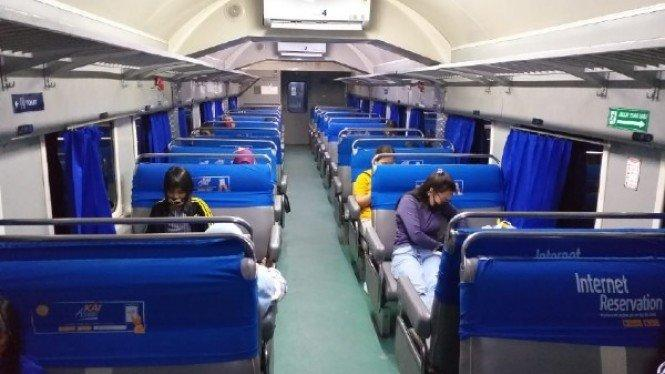 Mau Mudik Naik Kereta Api, Ini Syarat Wajib yang Harus Dipatuhi