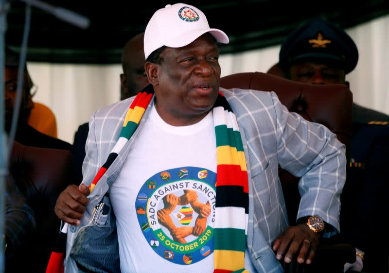 Zimbabwe accuses opposition of gun-smuggling plot
