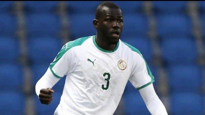 Bek Timnas Senegal dan Napoli, Kalidou Koulibaly.