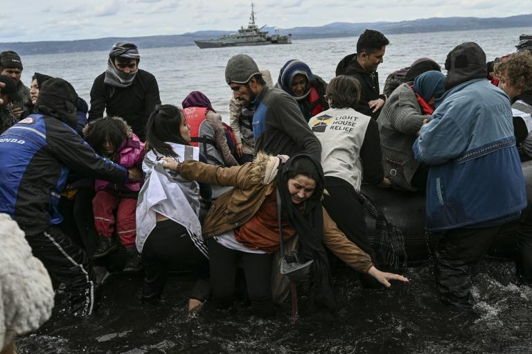 Greece is blocking hundreds of migrants from entering the country after Turkey said it will no longer prevent them from going to Europe