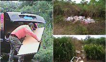 海岸保安林迭遭濫倒垃圾 林管處鎖定對象最高罰30萬