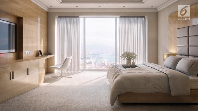 Ilustrasi Foto Kamar Hotel (iStockphoto)