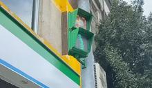 龍潭小綠人會唱歌 舒緩用路人忙碌緊張心情