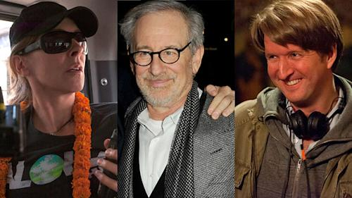 Just a Bigelow: Can Kathryn gain her second Oscar and become the only woman to win two for best director? Ask rivals Tom Hooper and Steven Spielberg