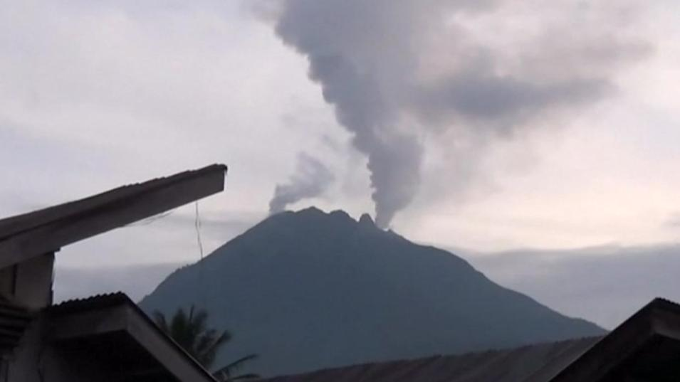Under the volcano in Indonesia