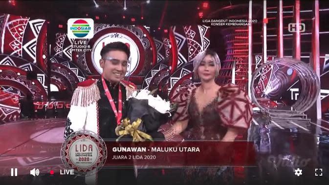 Gunawan Maluku Utara berhasil meraih Juara 2 LIDA 2020