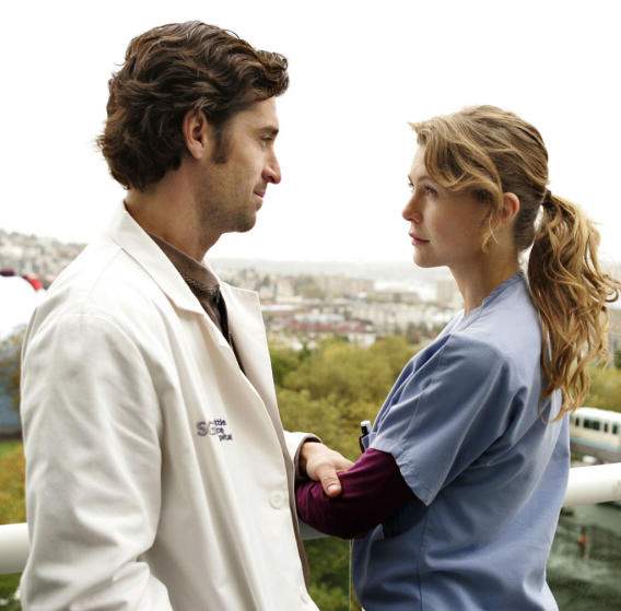 "Meredith Grey and Derek ""McDreamy"" Shepherd (Grey's Anatomy)"