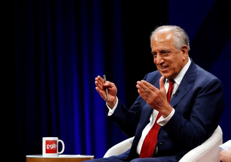 U.S special envoy congratulates Afghan leaders on 'inclusive' team for Taliban talks