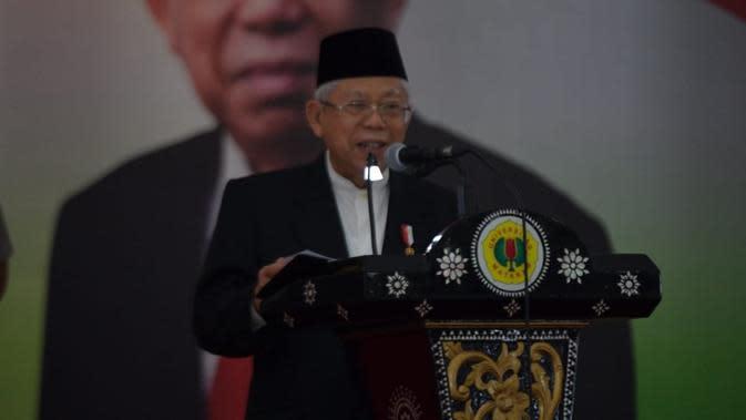 Wapres Ma'ruf Amin Sebut UU Cipta Kerja Mampu Selamatkan UMKM