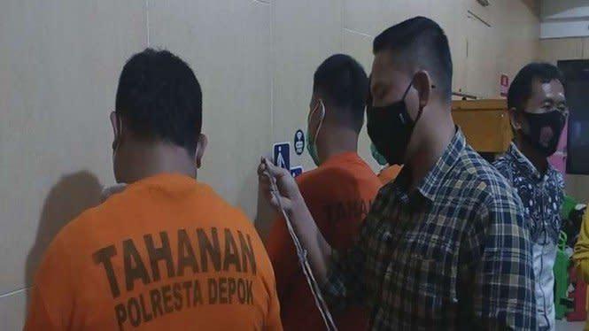 Komplotan Copet Berjimat Tali Pocong Diciduk Polisi