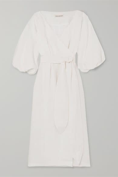 Mara Hoffman Francesca Hemp Wrap Dress