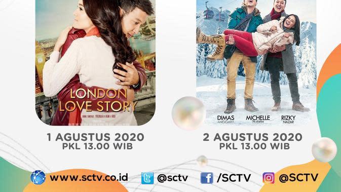 3xtraOrdinary Movie ditayangkan SCTV jelang HUT ke-30 yaitu deretan film nasional, Sabtu-Minggu, 1-2 Agustus 2020