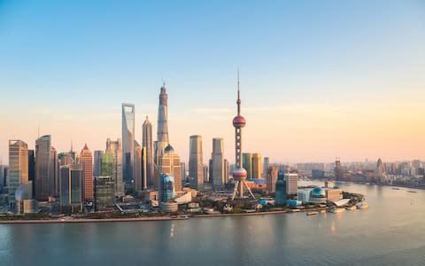 Shanghai - Credit: GETTY