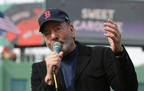 Neil Diamond Donates Week's Sales of 'Sweet Caroline' to Boston Marathon Bombing Victims
